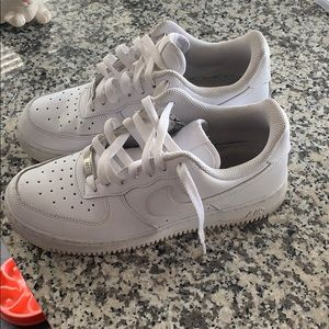 Nike Air Force low tops. Good condition